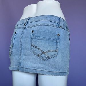 Early 2000's Low-Rise Mini Skirt